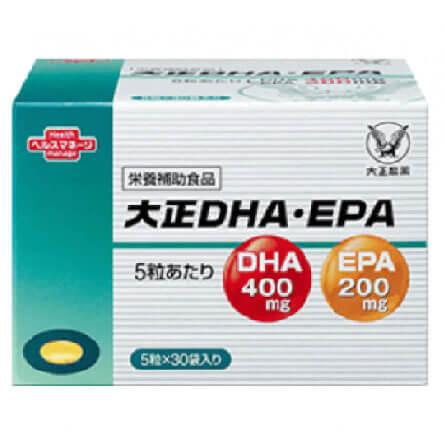 DHA/EPAおすすめランキング 第2位「大正DHA&EPA」